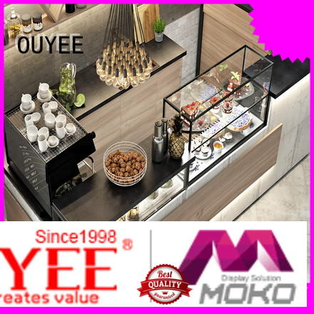 OUYEE best design commercial coffee station counter factory price for bar