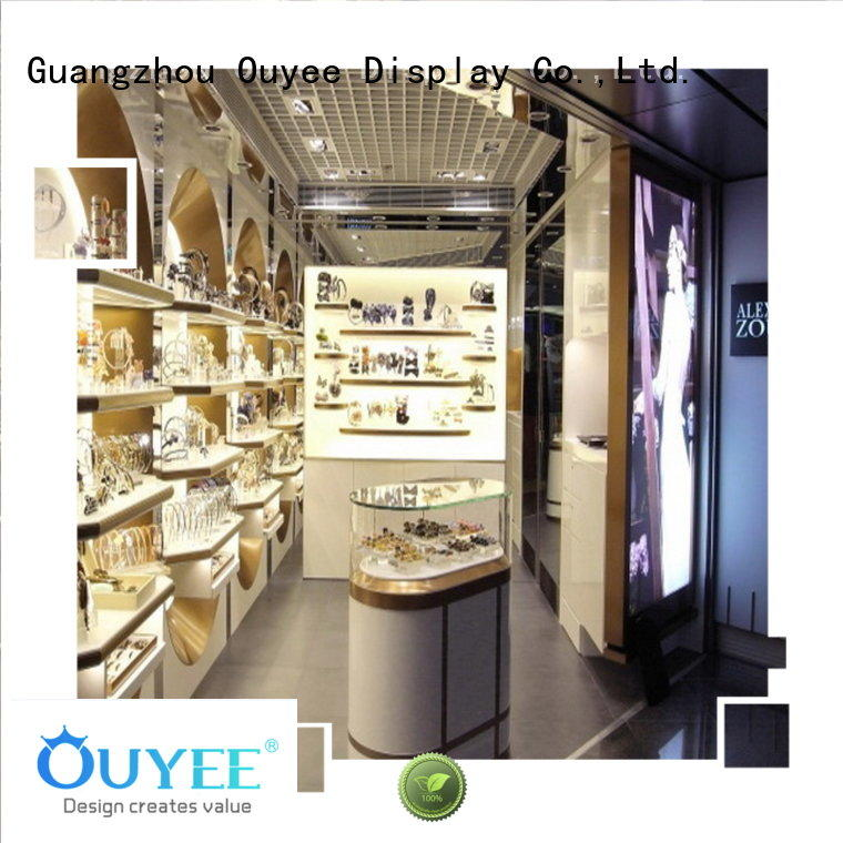 Quality OUYEE Brand counter perfume stand