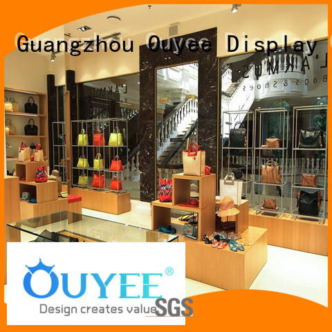 high-quality shoe rack shelf high-end for store OUYEE