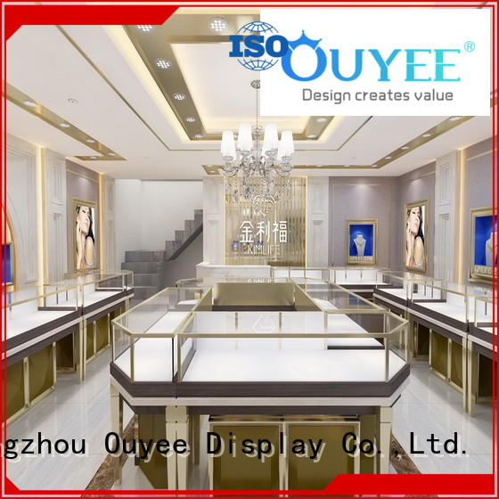 OUYEE top brand watch display stand commercial for store