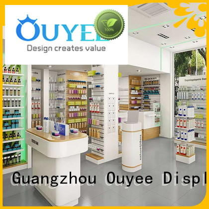 OUYEE at discount medical shop interior design free delivery for hospital