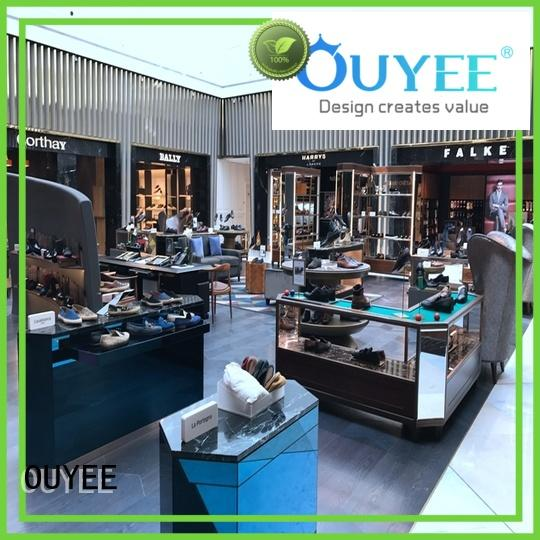 shoe cabinet furniture shoe clothes wooden shoe rack designs bag OUYEE Brand