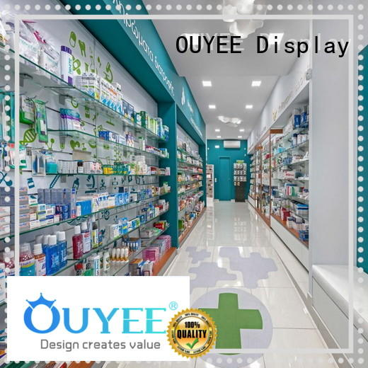 Quality OUYEE Brand pharmacy counter design display