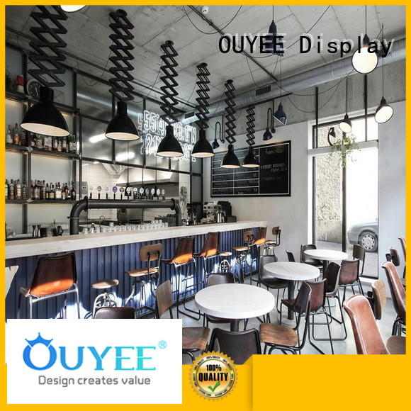 kiosk coffee shop counter restaurant commercial OUYEE Brand company