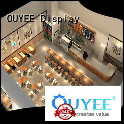 OUYEE cafe shop interior design on-sale for club