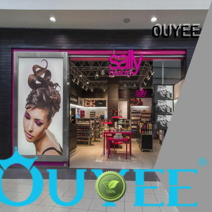 stand furnitures OEM cosmetic shop OUYEE