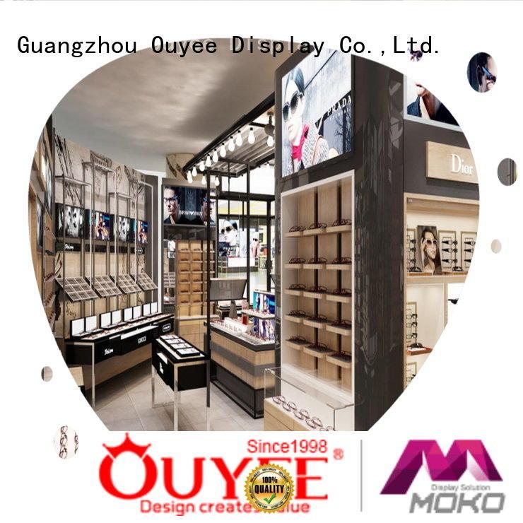 OUYEE Brand displays display shelves custom eyeglass display stand