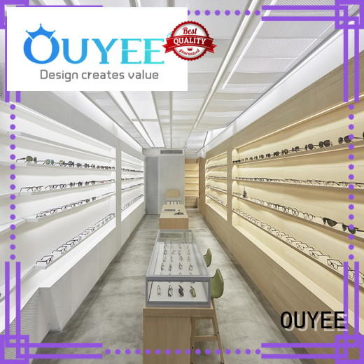 OUYEE wooden retail fixtures factory for shop