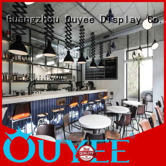 OUYEE on-sale coffee shop wall design bulk production for bar