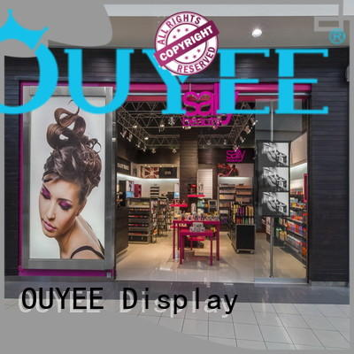 furniture stand makeup retail display racks retail OUYEE Brand