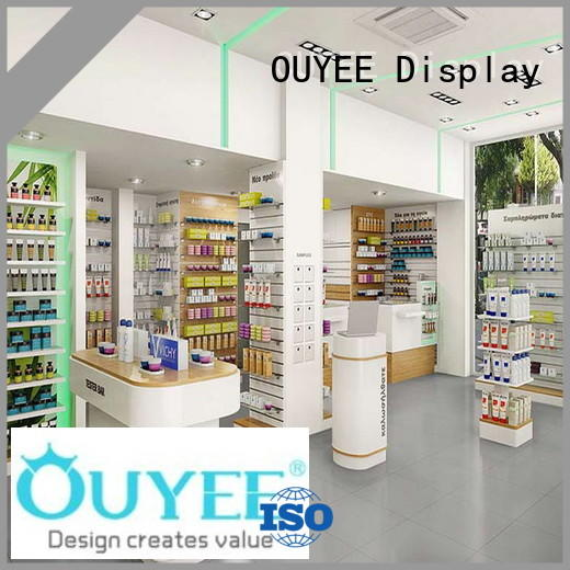 Hot pharmacy counter designs OUYEE Brand