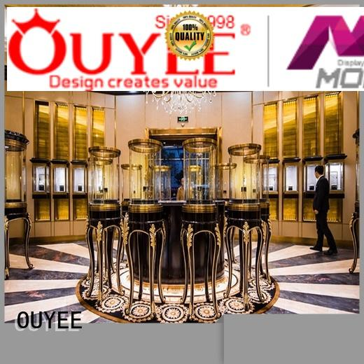 Quality OUYEE Brand furniture displays jewellery shop design