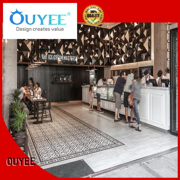 Hot coffee shop design coffee OUYEE Brand
