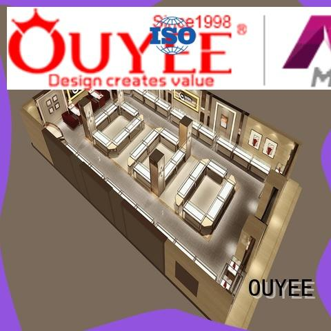 watch display stand commercial for wholesale OUYEE