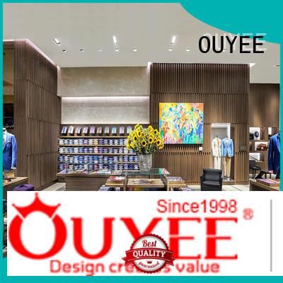 furniture underwear kids OUYEE Brand boutique clothing display racks manufacture