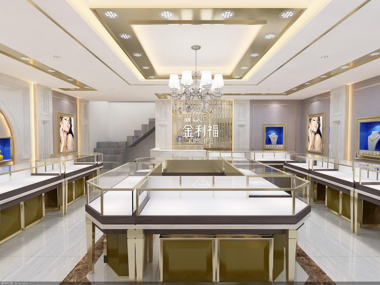 OUYEE top brand jewellery counter display OBM for shop-2