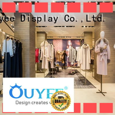 OUYEE high-end apparel racks cheapest price for wholesale