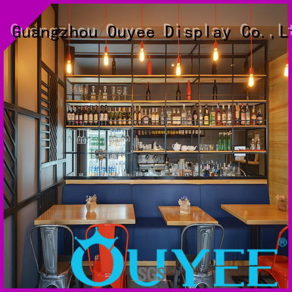 OUYEE Brand coffee interior station custom kiosk coffee shop
