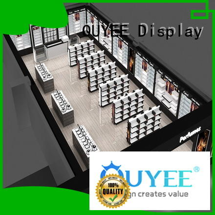 OUYEE custom perfume display cabinet by bulk for decoration