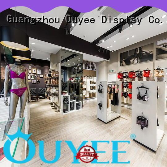 clothing store design high-end universalunderwear display