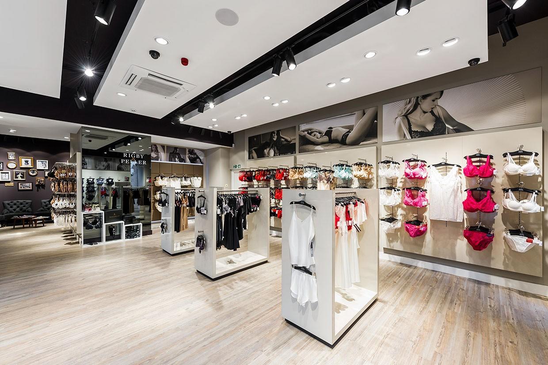 clothing store design high-end universalunderwear display-3