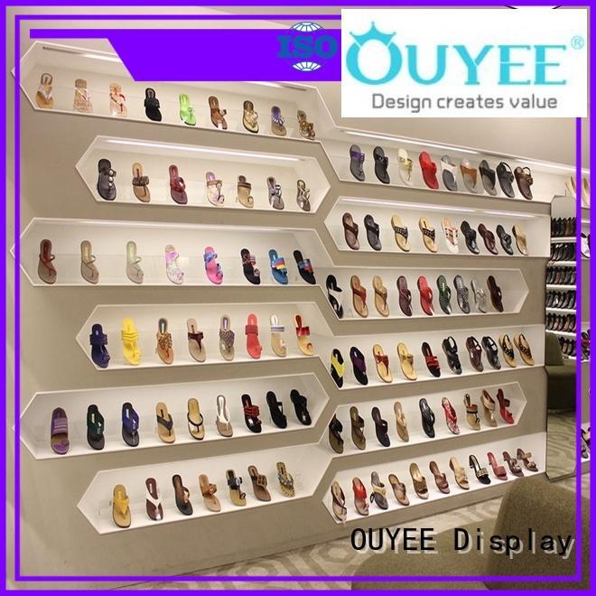 OUYEE footwear display racks high-quality for chain shop