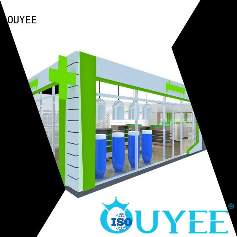 OUYEE top brand best pharmacy design free delivery for store