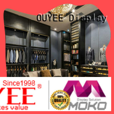 high-end garment shop interior design ideas cheapest price for show room OUYEE