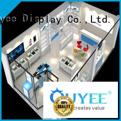 plywood mobile counter design fast installation for decoration OUYEE