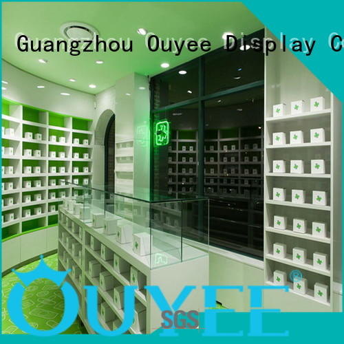 OUYEE Brand furniture supplies pharmacy counter design