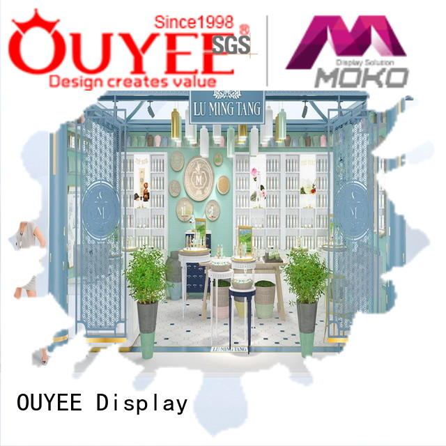 OUYEE one-stop cosmetic shop interior design cheapest factory price for decoration