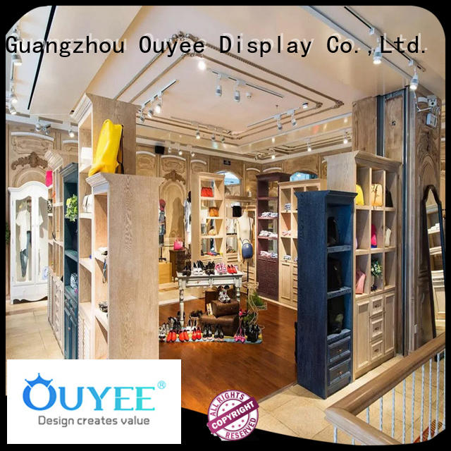 OUYEE high quality garment shop counter cheapest price for show room