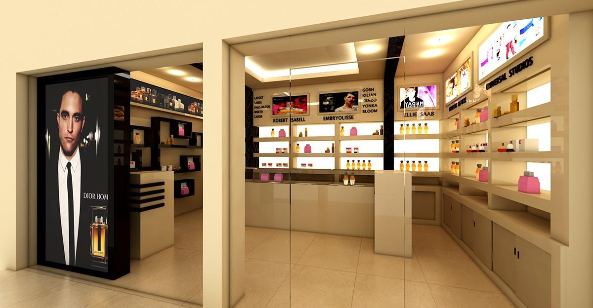 Perfume Shop Interior Design OY-PFD021-1