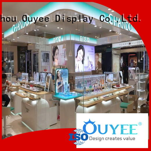 retail showroom kiosk OEM cosmetic shop OUYEE