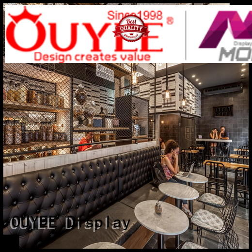 OUYEE Brand cafe interior coffee shop design manufacture