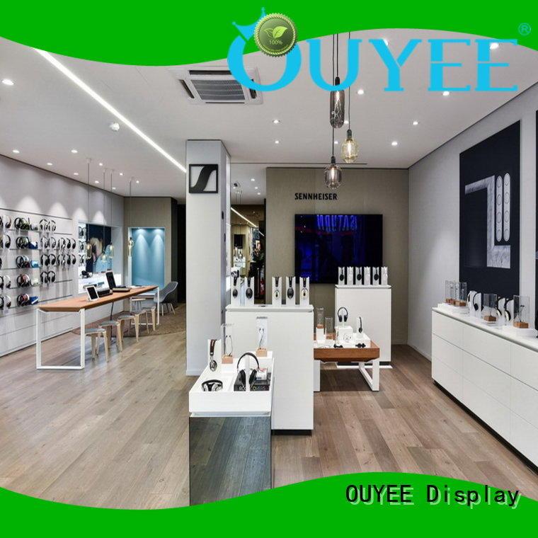 phone repair kiosk furniture electronic shop display OUYEE Brand