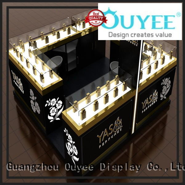 OUYEE Brand shelf showcase custom perfume rack stand
