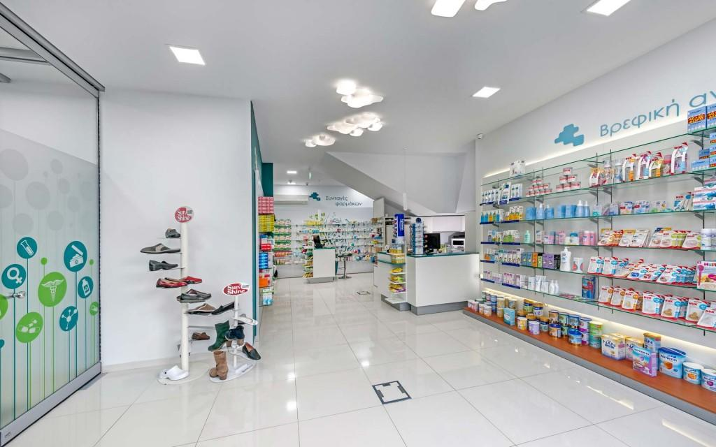 OUYEE durable medical store design fast installation for store-2