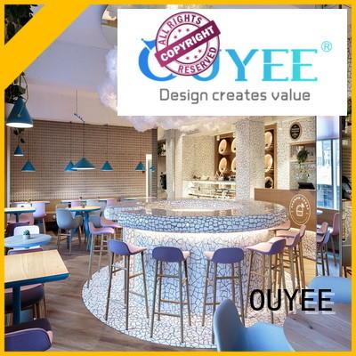 sale interior OEM coffee shop design OUYEE