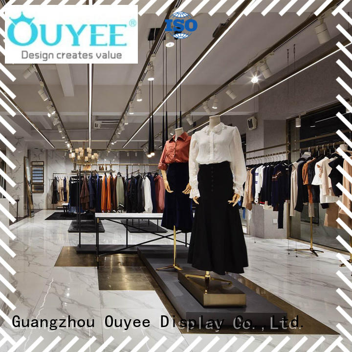 commercial fixtures clothing shelves shop OUYEE Brand