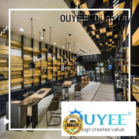 OUYEE popular eyeglass cabinet for wholesale for shop