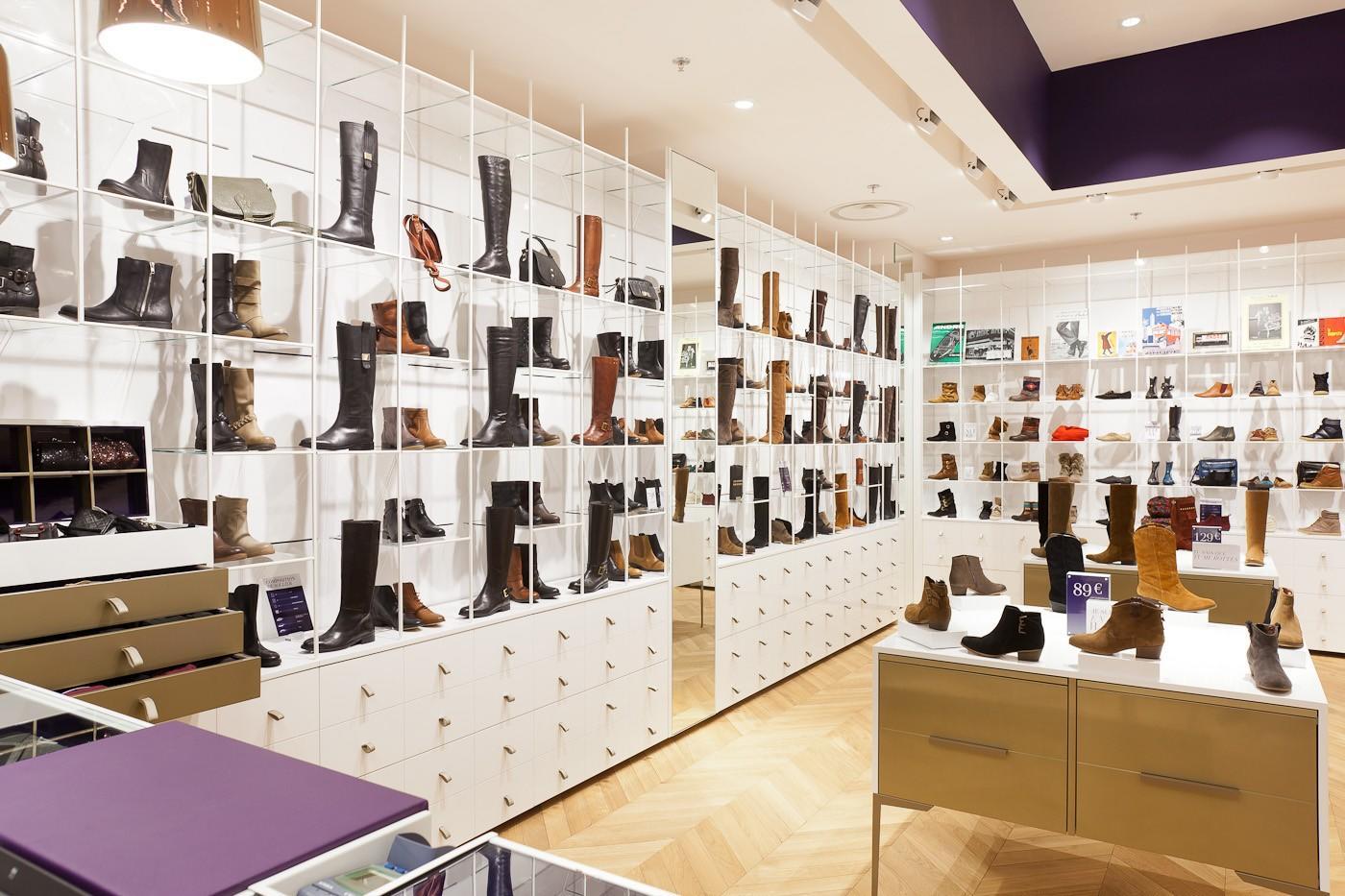 one-stop sneaker shelves funky popular for business-3
