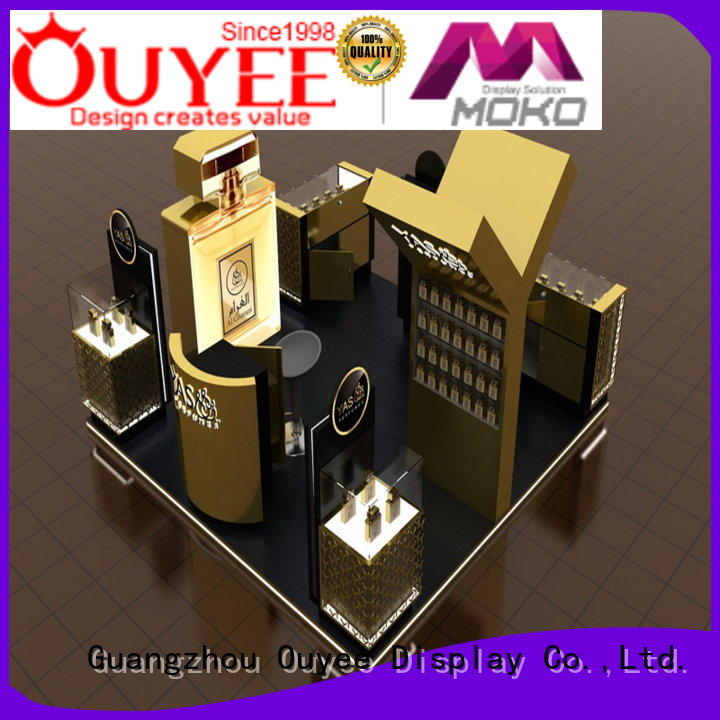 OUYEE durable perfume display stand at discount for supermarket