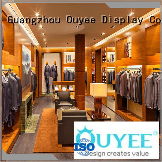OUYEE high-end garments shop furniture cheapest price for decoration