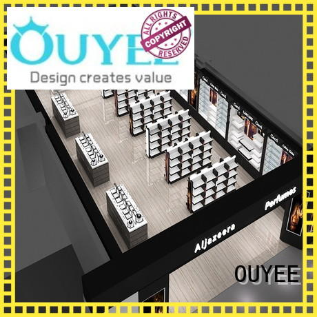 perfume rack stand cabinet counter retail OUYEE Brand perfume stand