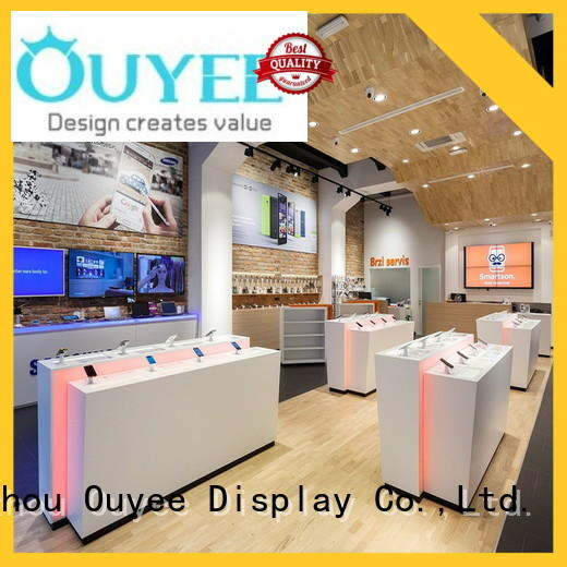 OUYEE high quality mobile shop display fast delivery