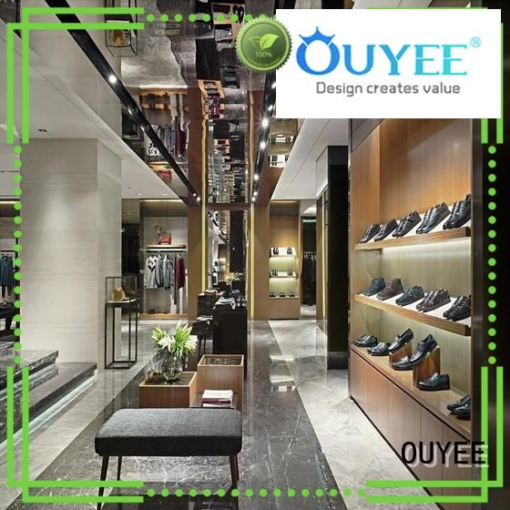 OUYEE high quality apparel racks at discount for wholesale
