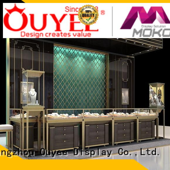 cabinets stands jewellery shop showcase design watch OUYEE company