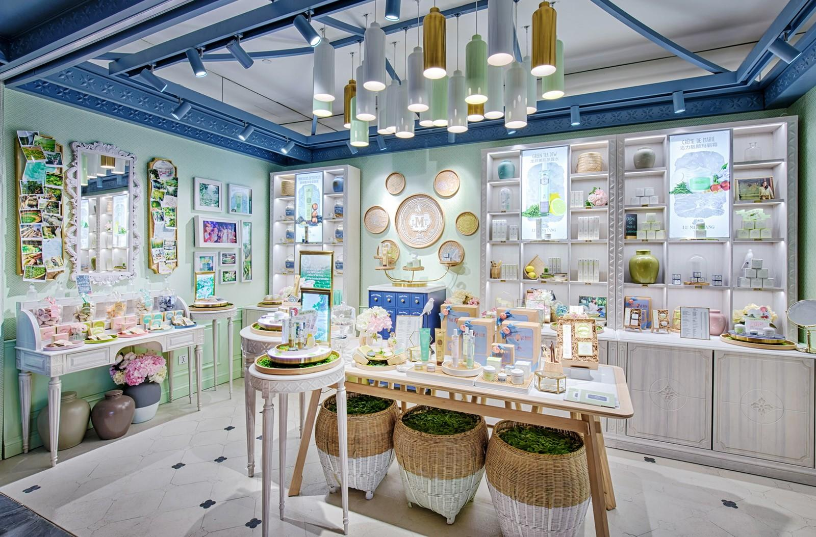 OUYEE one-stop cosmetic shop interior design cheapest factory price for decoration-2