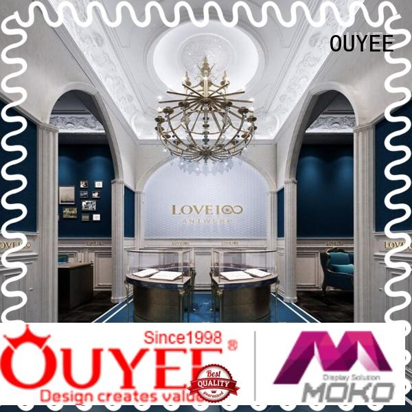 chic style commercial jewelry display ODM for store